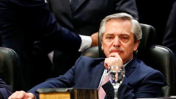 Alberto Fernández, presidente electo de Argentina - Sputnik France