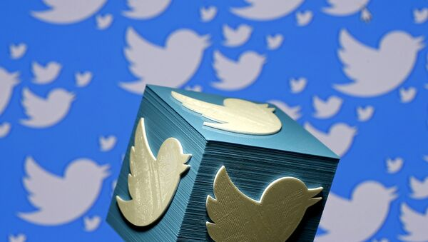 A 3D-printed logo for Twitter - Sputnik France