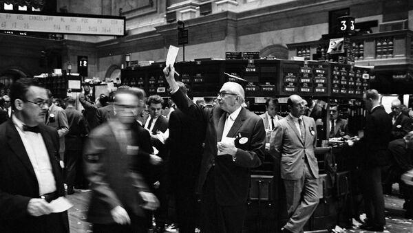 Traders à la Bourse de New York, septembre 1963 - Sputnik France
