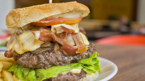 Un burger - Sputnik France