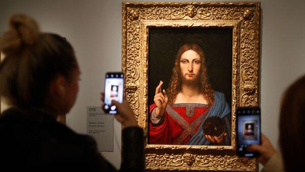 le tableau de Léonard de Vinci Salvator Mundi  - Sputnik France