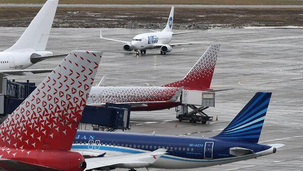 Des avions à l'aéroport de Vnukovo - Sputnik France