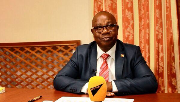 Ezéchiel Nibigira, ministre des affaires étrangères du Burundi - Sputnik France
