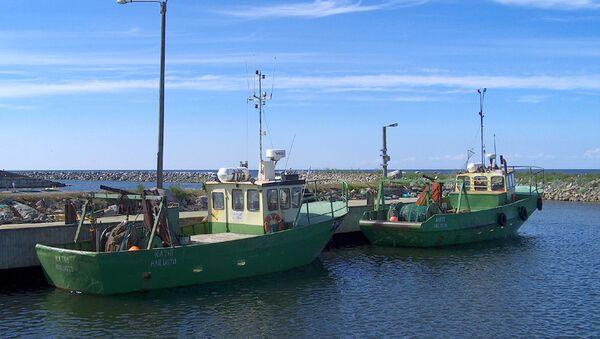 Boats in Marjaniemi, Hailuoto, Finland. - Sputnik France