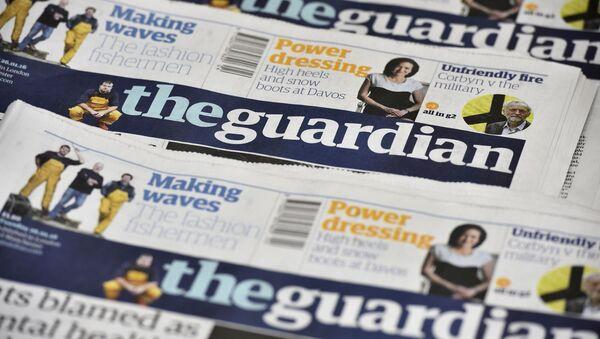 Un journal de The guardian - Sputnik France