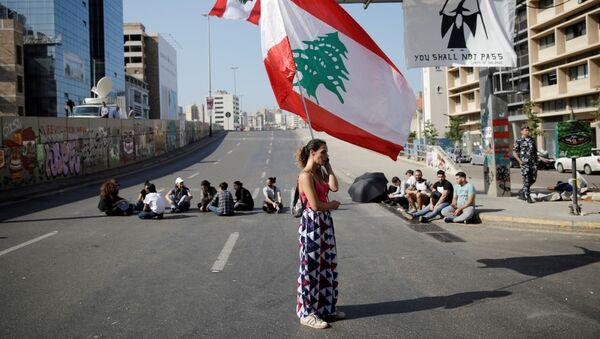 Les manifestations de rue contre le pouvoir au Liban  - Sputnik France