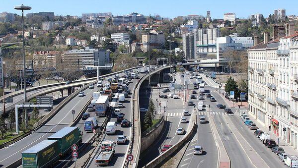 À Lyon, A6 et Pont Kitchener, en direction du tunnel de Fourvière. - Sputnik France