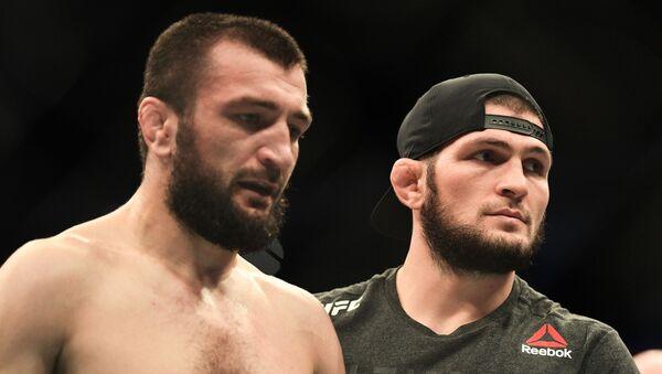 Abubakar Nurmagomedov et Khabib Nurmagomedov - Sputnik France