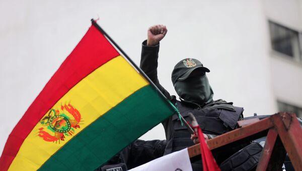 Protestations en Bolivie  - Sputnik France