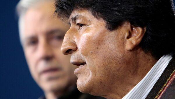 Evo Morales et Alvaro Garcia Linera - Sputnik France