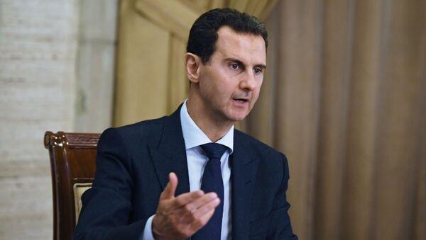 Président syrien Bachar el-Assad  - Sputnik France