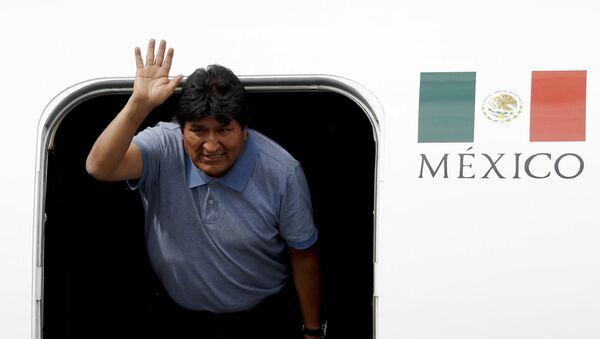 Evo Morales - Sputnik France