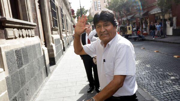 Evo Morales au Mexique - Sputnik France