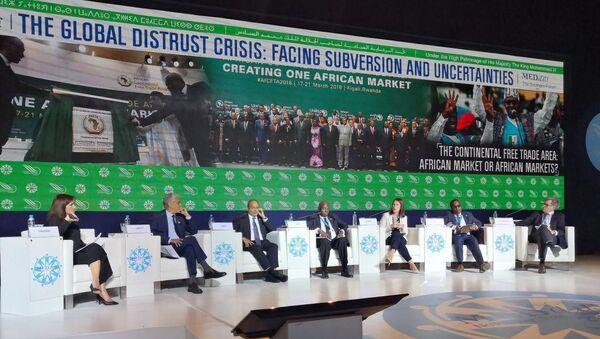 « Zone de libre-échange continentale: un marché africain ou des marchés africains?», Panel d'ouverture du Forum Medays, le 14 novembre, à Tanger.  - Sputnik France
