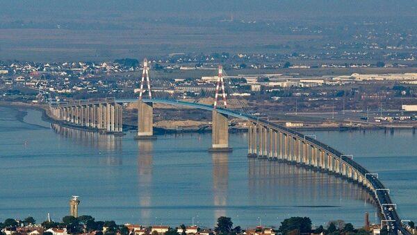 Le pont de Saint-Nazaire - Sputnik France