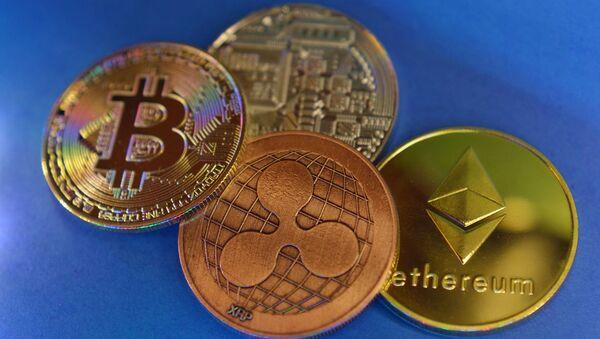 Cryptomonnaie (image d'illustration) - Sputnik France