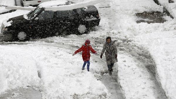 Chutes de neige à Téhéran. Archives - Sputnik France