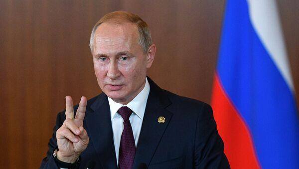 Vladimir Poutine en visite au Brésil - Sputnik France