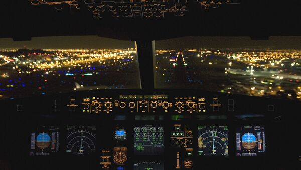 Cockpit d'un ARJ21-900  - Sputnik France