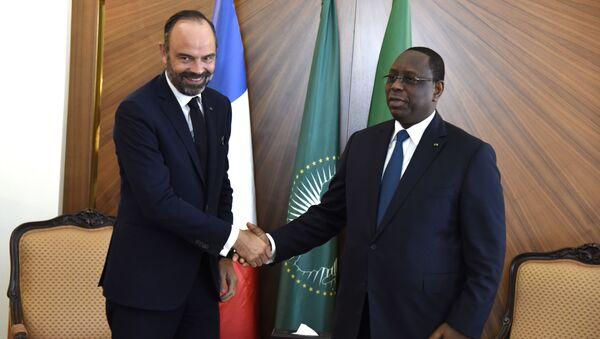 Visite d'Edouard Philippe au Sénégal, à Dakar - Sputnik France