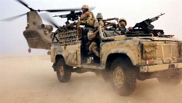 Armée britannique en Irak - Sputnik France