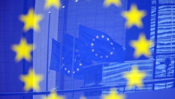 Drapeaux de l'UE à Bruxelles - Sputnik France