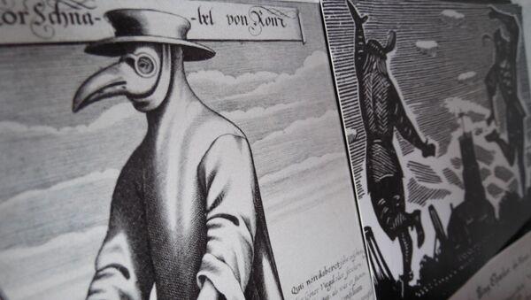 Plague doctor  - Sputnik France