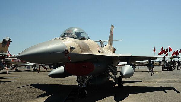 Un F-16 des Forces armées royales marocaines - Sputnik France