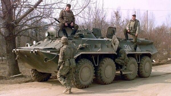 BTR 80 en Serbie - Sputnik France