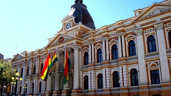 Palais du Congrès national à La Paz - Sputnik France