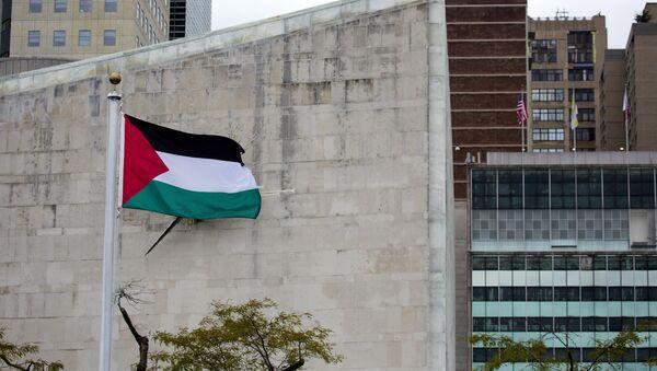 Le drapeau palestinien - Sputnik France