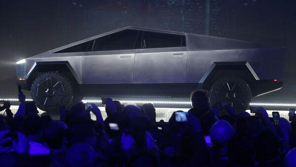 Cybertruck de Tesla - Sputnik France
