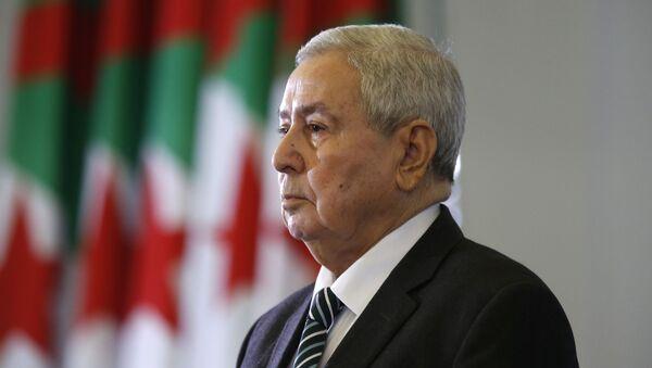 Abdelkader Bensalah  - Sputnik France
