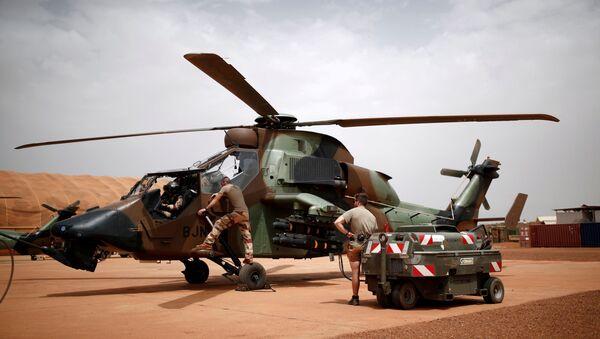 Un hélicoptère de la Force Barkhane au Mali. - Sputnik France