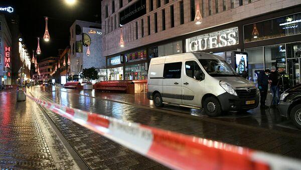 La Grote Marktstraat de La Haye après une attaque au couteau le 29 novembre 2019 - Sputnik France