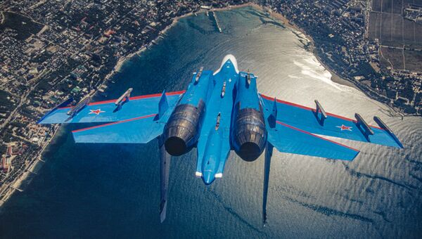 Quand des chasseurs sont à portée de main: des avions de combat pris en photo dans les airs - Sputnik France
