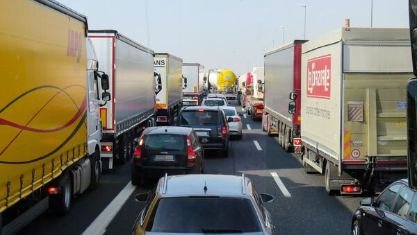 Un embouteillage - Sputnik France