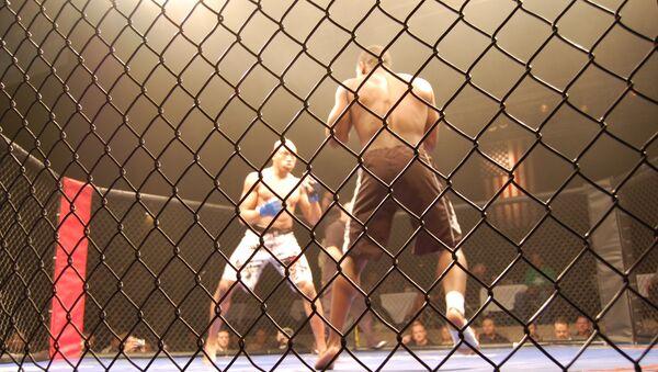 Un combat de MMA (image d'illustration) - Sputnik France