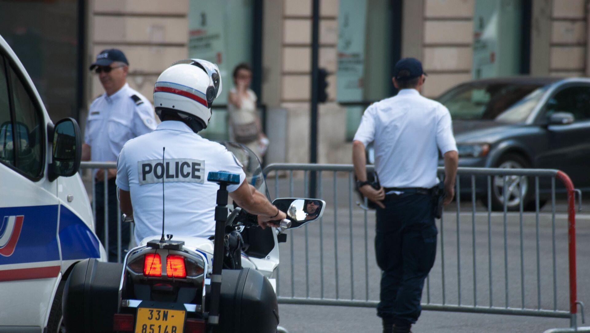 Police nationale à Toulouse - Sputnik France, 1920, 04.03.2021