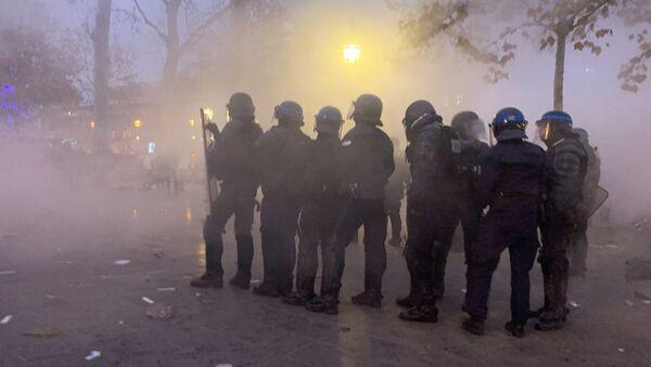 FDO lors de la manifestation 5 décembre 2019 - Sputnik France