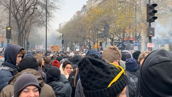la grève générale à Paris - Sputnik France