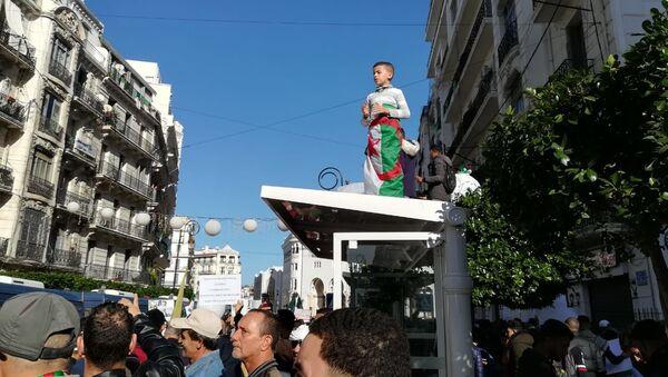 Manifestation en Algérie, 6 décembre 2019 - Sputnik France