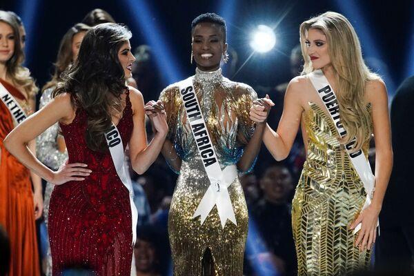 La gagnante et les finalistes du concours Miss Univers  - Sputnik France