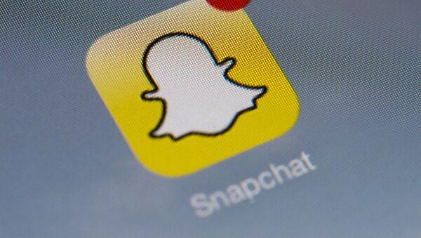 Logo de l'application  Snapchat  - Sputnik France