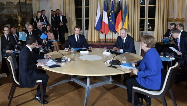 France Normandy Four Summit - Sputnik France