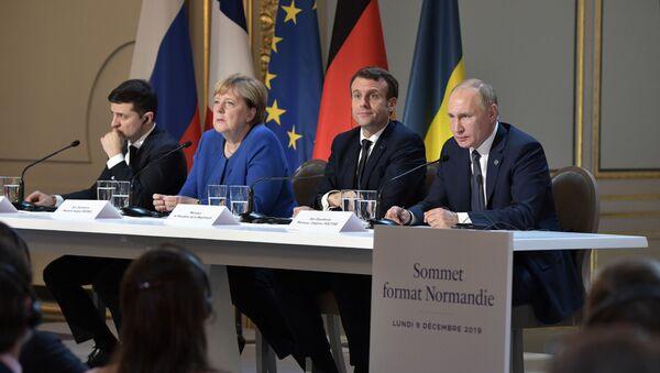 Рабочий визит президента РФ В. Путина во Францию  - Sputnik France