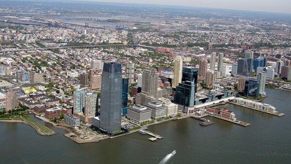 Jersey City from a helicopter. - Sputnik France
