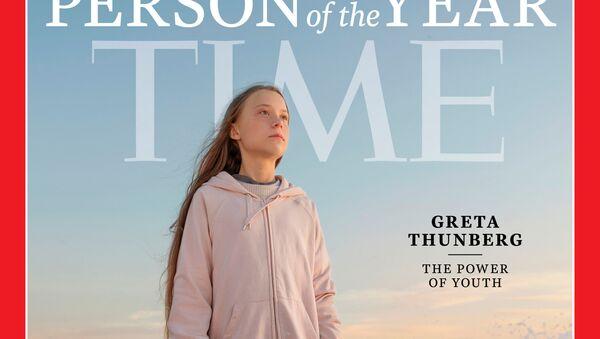 Greta Thunberg à la Une du magazine Time - Sputnik France