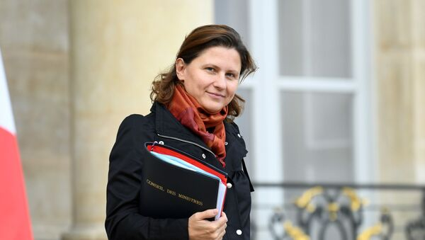 Roxana Maracineanu, la ministre des Sports  - Sputnik France