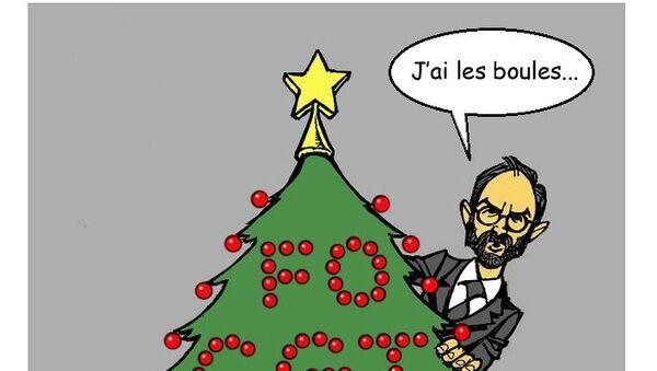 Grèves: «la menace sur Noël est inacceptable» pour Édouard Philippe - Sputnik France